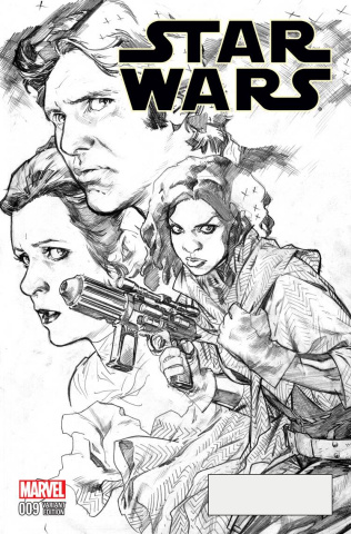 Star Wars #9 (Immonen Sketch Cover)