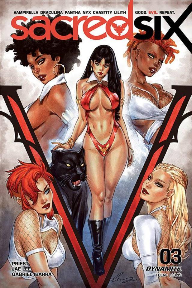 Sacred Six #3 (Chatzoudis Cover)