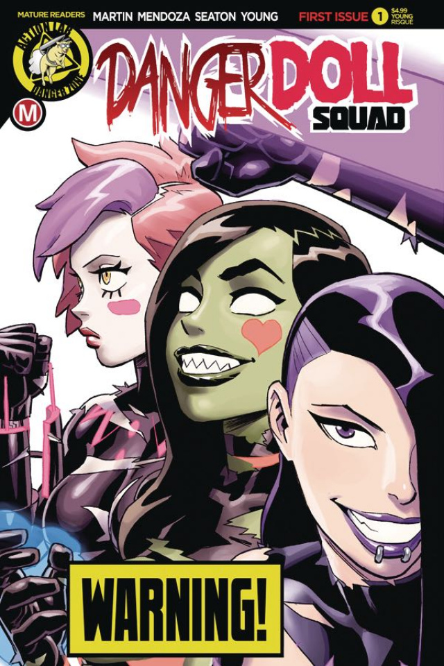 Danger Doll Squad #1 (Winston Young Risque Cover)