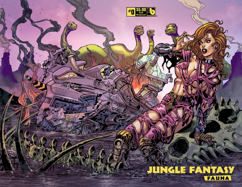 Jungle Fantasy: Fauna #0 (Crash Wrap Cover)