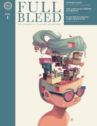 Full Bleed: The Comics & Culture Quarterly Vol. 1 (New Edition)