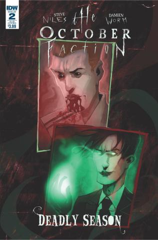 The October Faction: Deadly Season #2 (Subscription Cover)