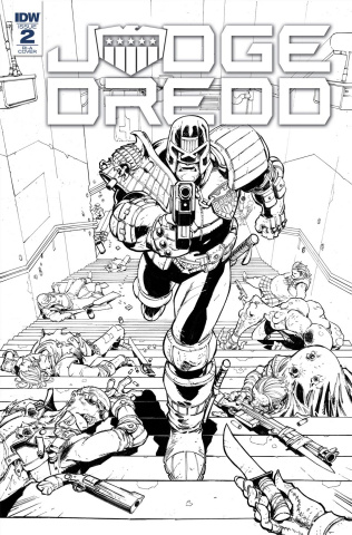 Judge Dredd: Under Siege #2 (10 Copy Cover)