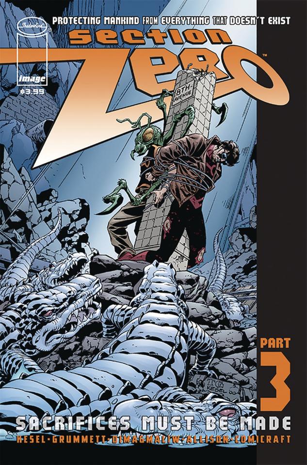 Section Zero #3 (Grummett & Kesel Cover)