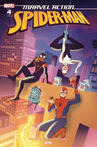 Marvel Action: Spider-Man #4 (10 Copy Ganucheau Cover)