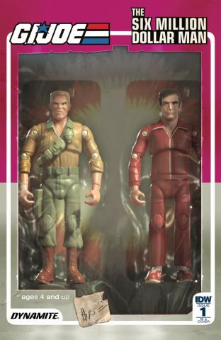 G.I. Joe vs. The Six Million Dollar Man #1 (10 Copy Cover)