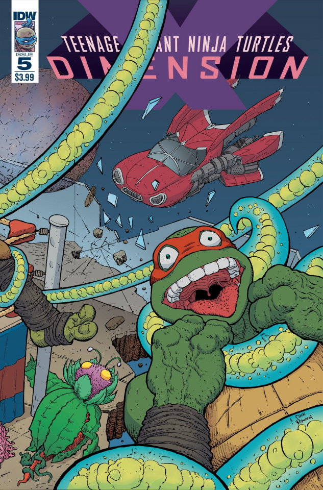 Teenage Mutant Ninja Turtles: Dimension X #5 (Pitarra Cover)