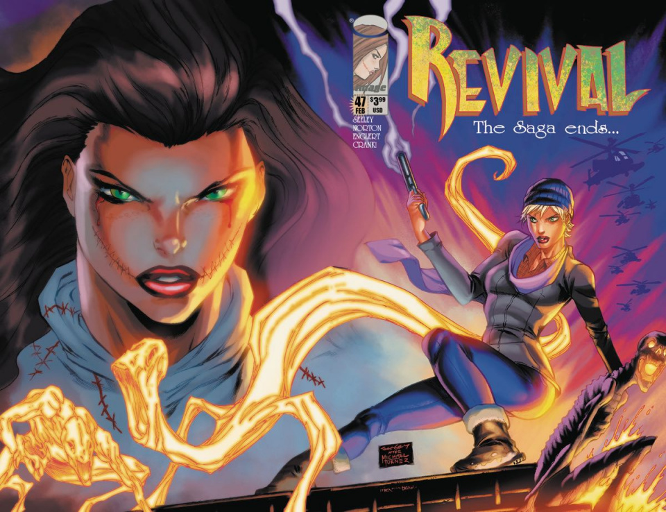 Revival #47 (Image Tribute Cover)