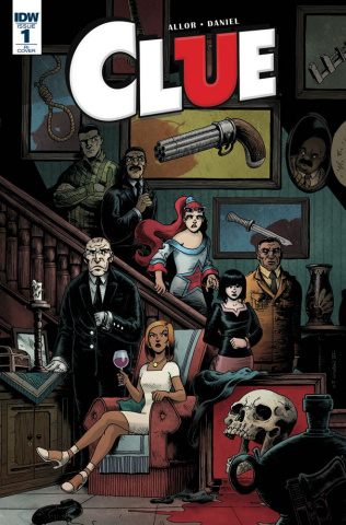Clue #1 (10 Copy Cover)