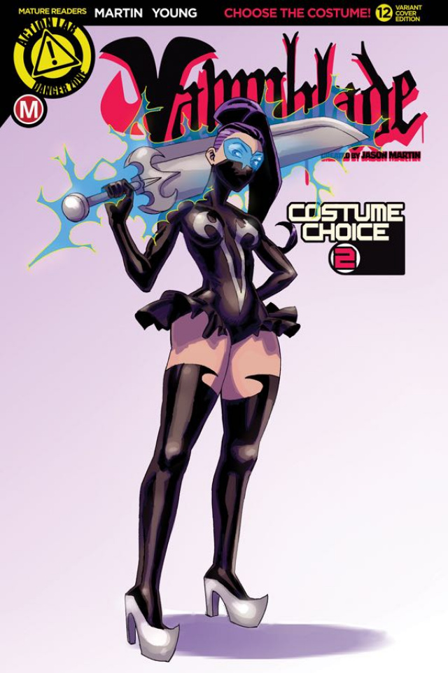 Vampblade #12 (Costume Choice 2 Cover)