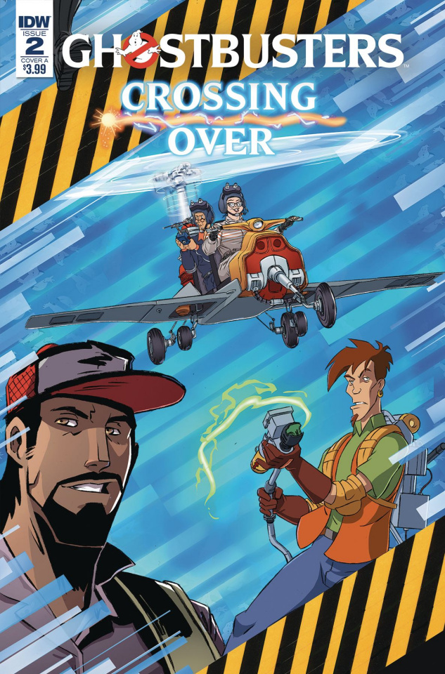 Ghostbusters: Crossing Over #2 (Schoening Cover)