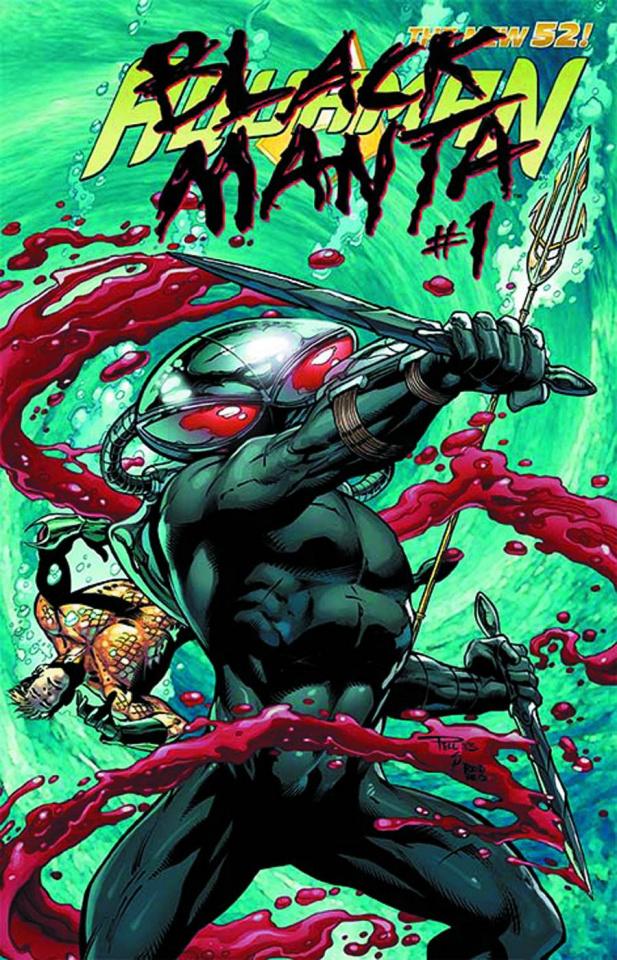 Aquaman #23.1: Black Manta Standard Cover