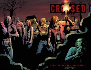 Crossed: Badlands #5 (Wrap Cover)