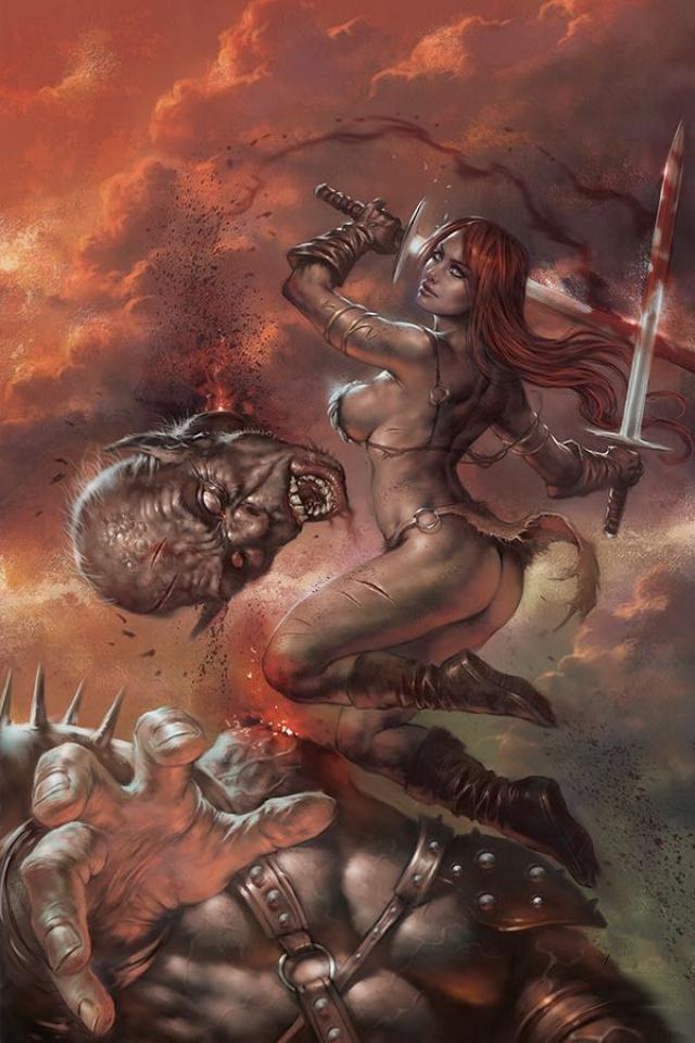 Red Sonja: Birth of the She-Devil #3 (Parillo Virgin Cover)