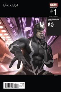 Black Bolt #1 (Rahzzah Hip Hop Cover)