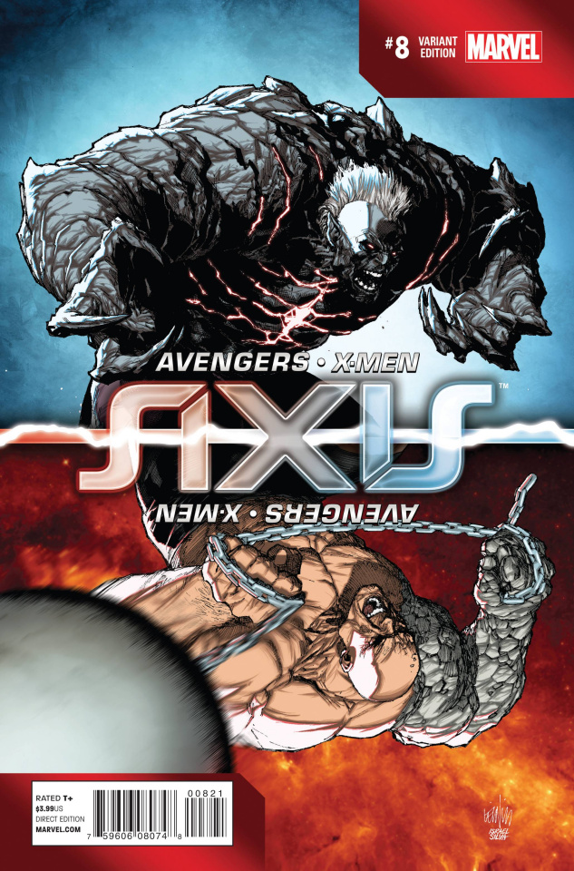 Avengers and X-Men: AXIS #8 (Yu Inversion Cover)