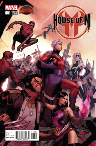 House of M #1 (Molina Cover)