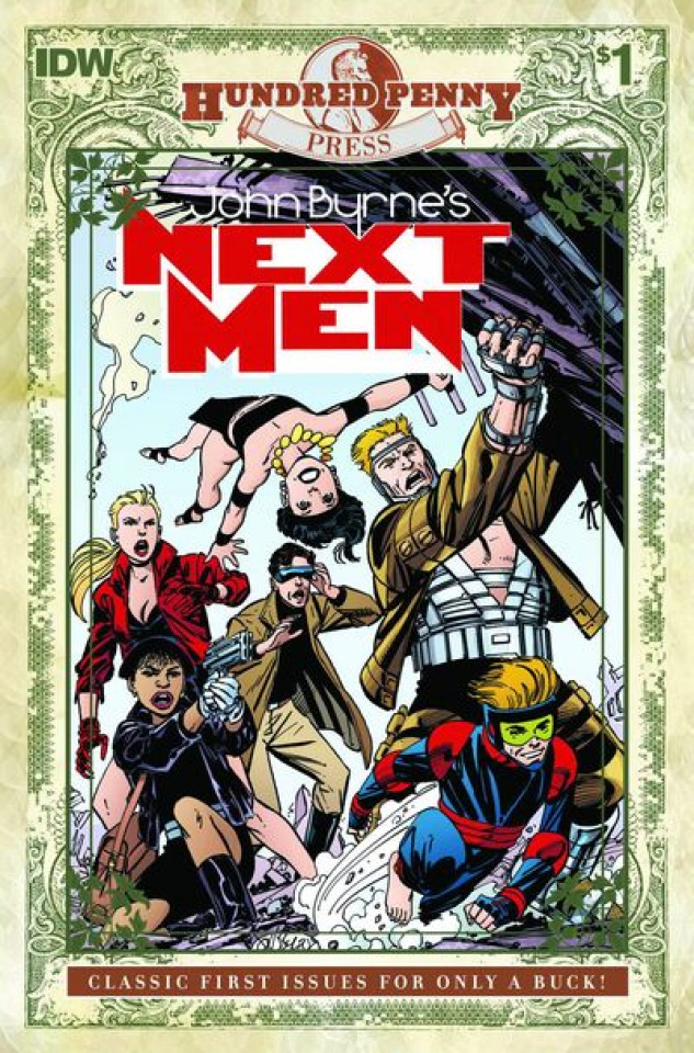 John Byrne's Next Men #1 (100 Penny Press)