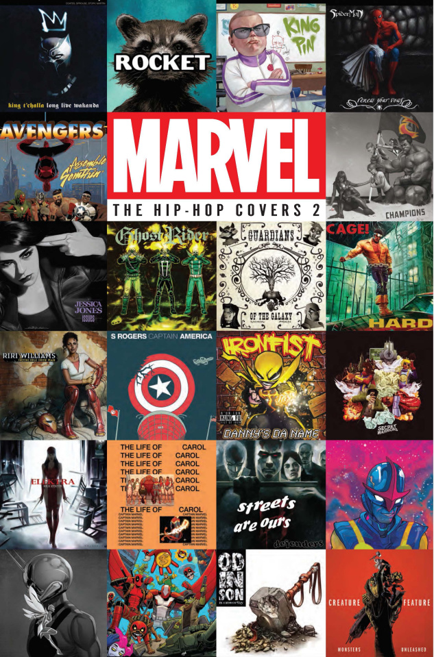 Marvel: The Hip Hop Covers Vol. 2