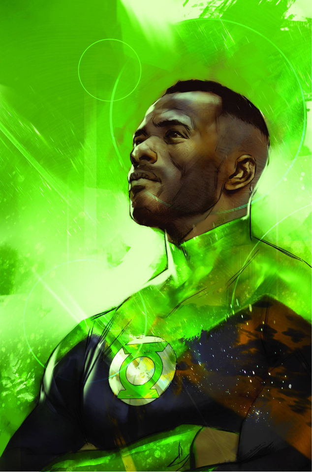 Green Lantern: The Lost Army #1 (Variant Cover)