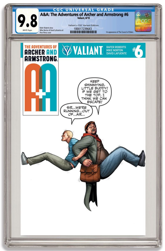 A&A #6 (CGC Replica Perez Cover)
