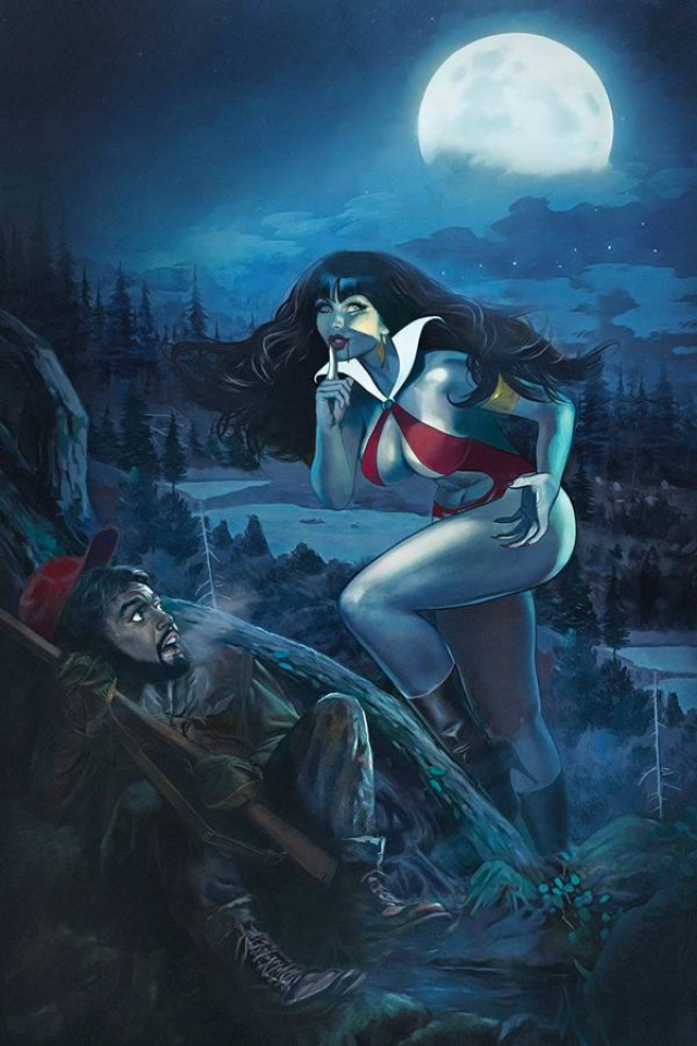 Vampirella #14 (Dalton Virgin Cover)