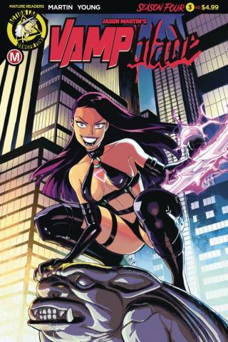 Vampblade, Season Four #3 (Young Cover)