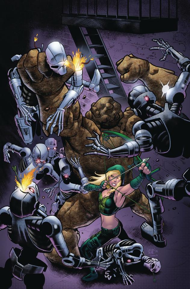 Robyn Hood: Vigilante #4 (Muhr Cover)