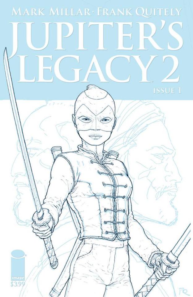 Jupiter's Legacy 2 #1 (Quitely Sketch Cover)
