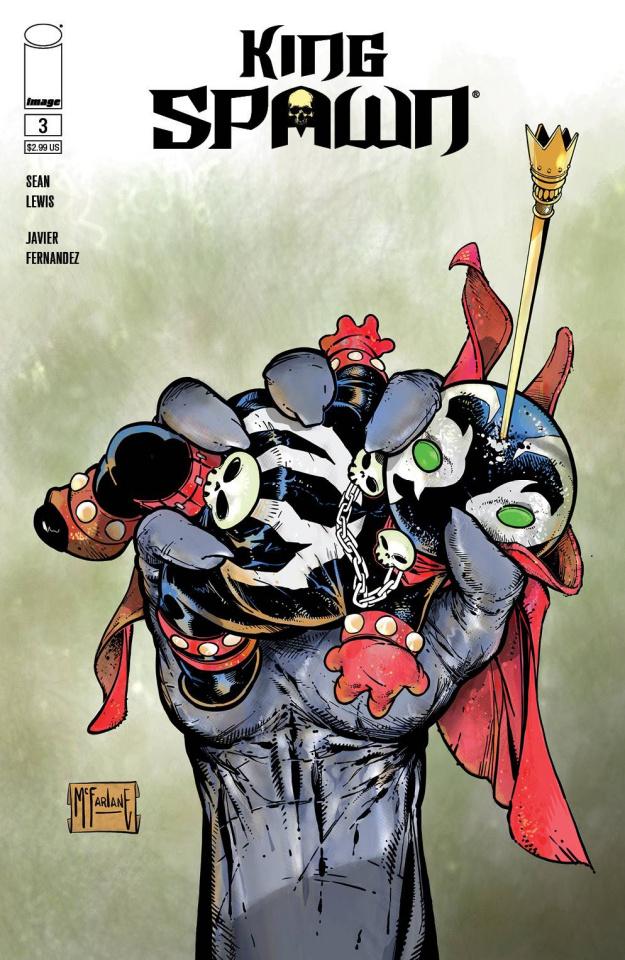 King Spawn #3 (McFarlane Cover)