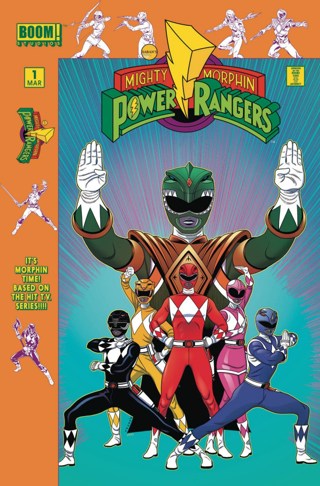Mighty Morphin' Power Rangers #1 (Launch Party Cover)