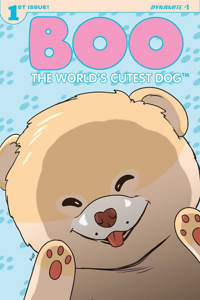 Boo: The World's Cutest Dog #1 (Uy Cover)