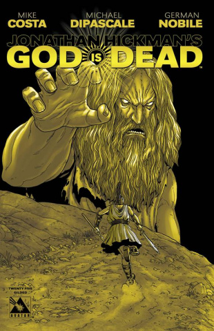 God Is Dead #25 (Gilded Retailer Cover)