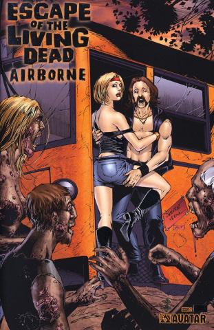 Escape of the Living Dead: Airborne #2 (Platinum Foil Cover)