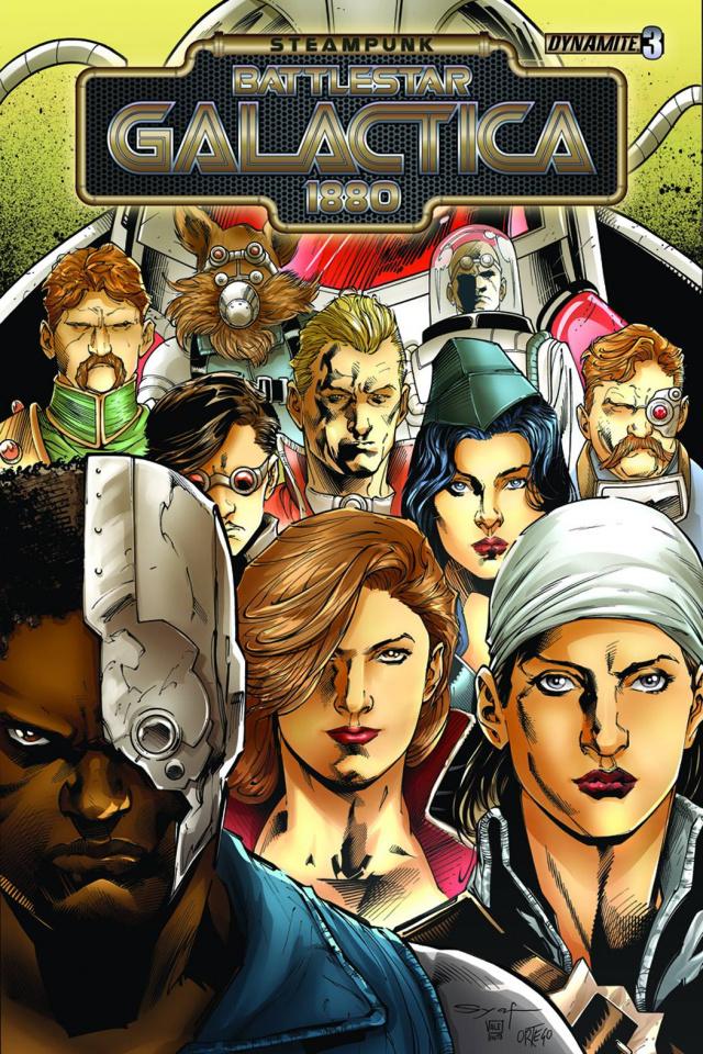 Steampunk Battlestar Galactica: 1880 #3