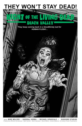 Night of the Living Dead: Death Valley #3 (Classic Cover)