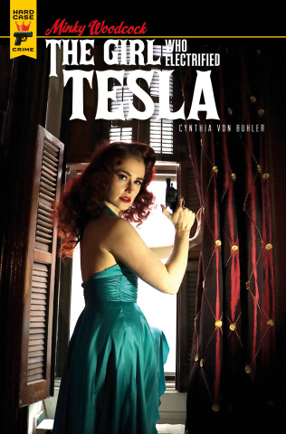 Minky Woodcock: The Girl Who Electrified Tesla #3 (Photo Cover)