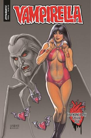 Vampirella Valentines Special (Linsner Cover)