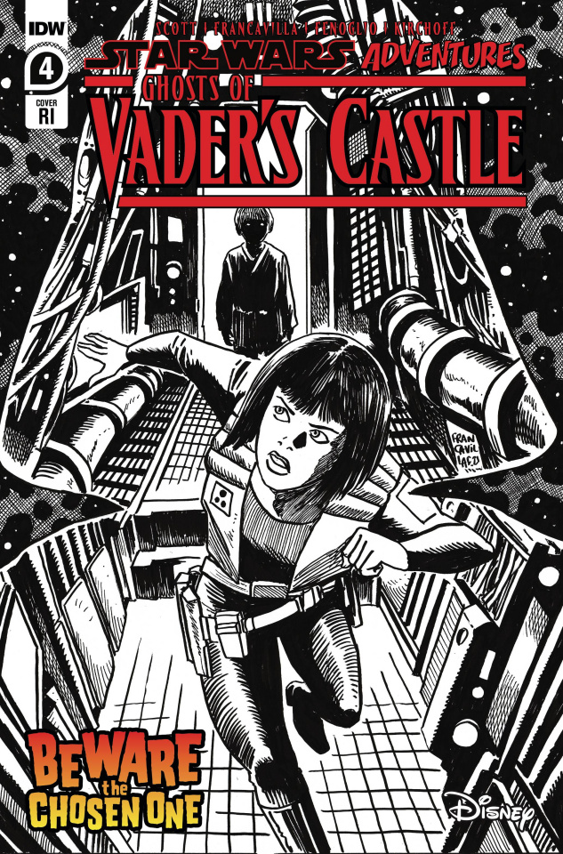 Star Wars Adventures: Ghosts of Vader's Castle #4 (10 Copy Cover)