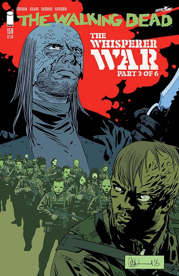 The Walking Dead #159 (Adlard & Stewart Cover)