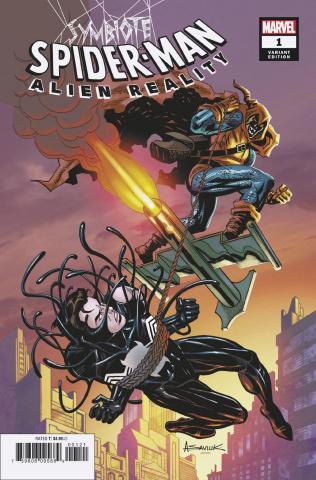 Symbiote Spider-Man: Alien Reality #1 (Saviuk Cover)
