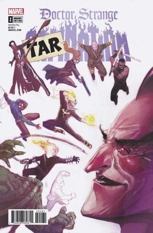 Doctor Strange: Damnation #2 (Tarnation Cover)
