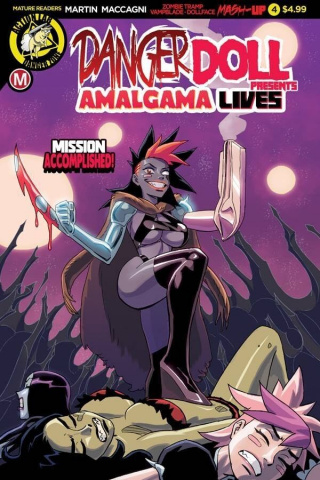 Danger Doll Squad Presents: Amalgama Lives #4 (Young Cover)