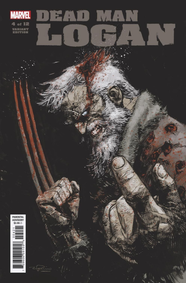 Dead Man Logan #4 (Zaffino Cover)