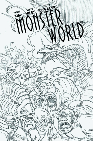 Monster World #4 (Kowalski Cover)