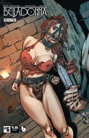 Belladonna: Fire and Fury #6 (Bondage Cover)