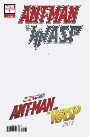 Ant-Man and The Wasp #1 (Movie Cover)
