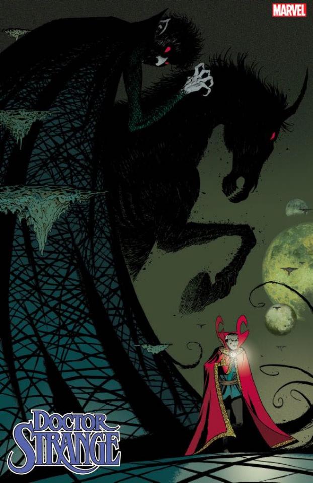Doctor Strange #18 (Martin Cover)