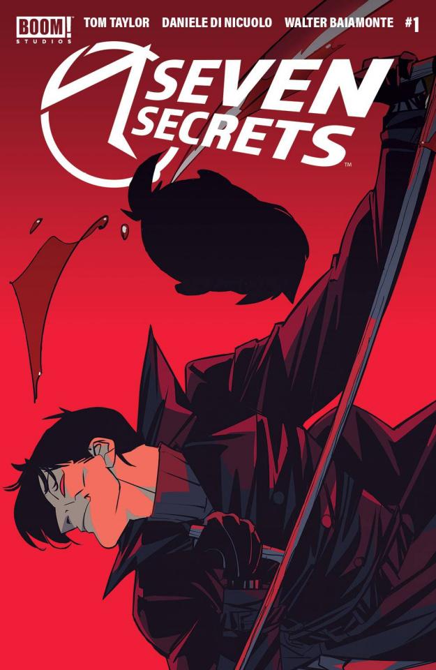 Seven Secrets #1 (4th Printing)