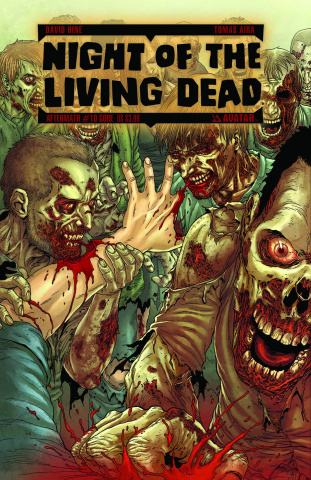 Night of the Living Dead: Aftermath #10 (Gore Cover)